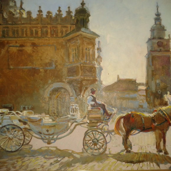 "Оксана Бегма ""Мои путешествия"" выставка живописи"