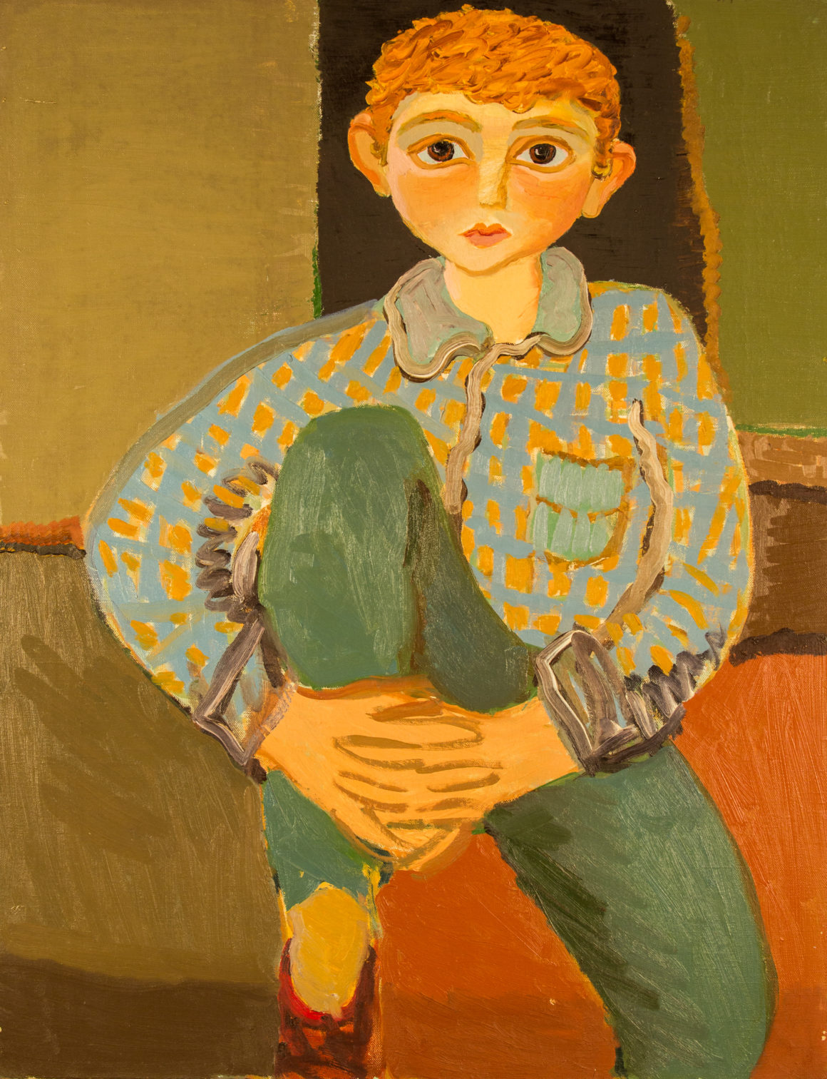 Мовсесян Калуст «Мальчик в клетчатой рубашке»